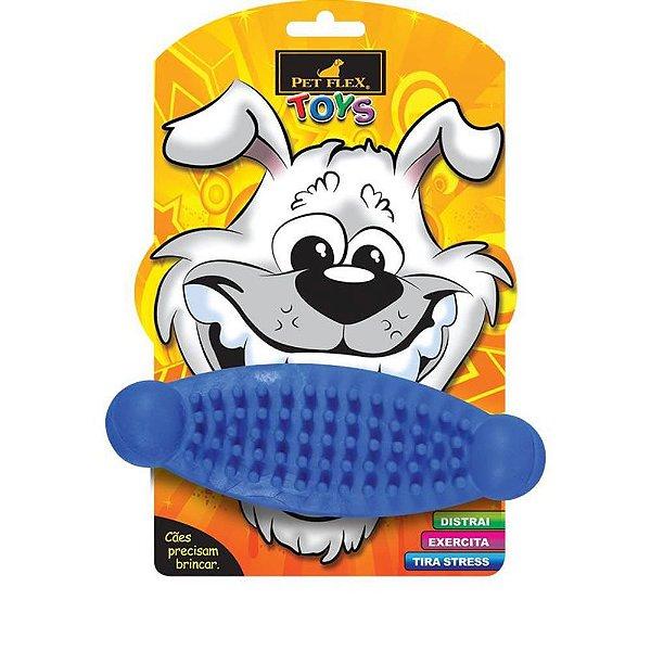 Brinquedos Para Cachorro Massageador Pet Flex Azul