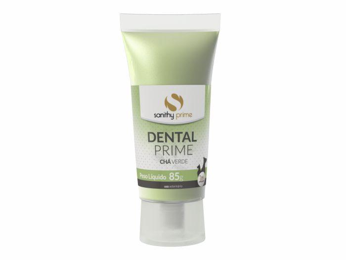 Pasta De Dente Para Cachorro e Gato Creme Dental Prime Chá Verde