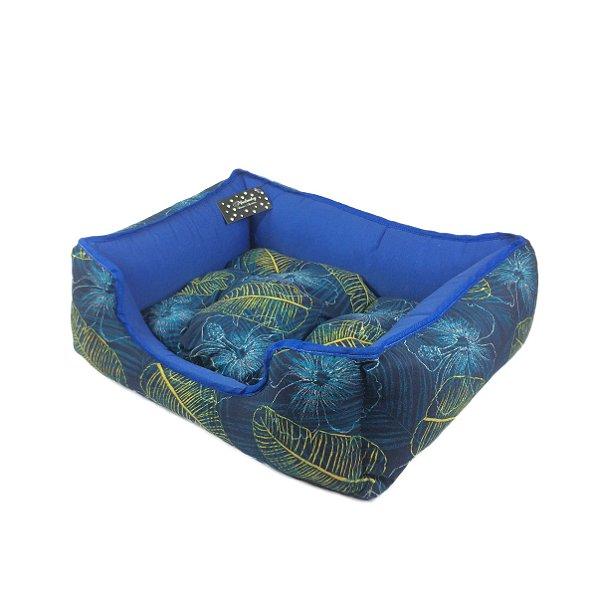 Cama Para Cachorro MadruDog Azul P