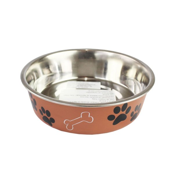 Comedouro Bebedouro Bella Bowl 17cm Loving Pets Copper