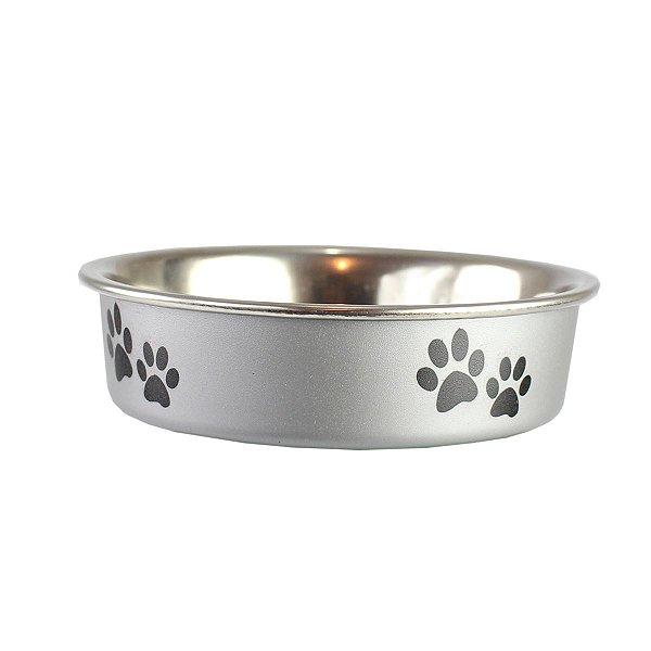Comedouro Bebedouro Bella Bowl 11cm Loving Pets Silver