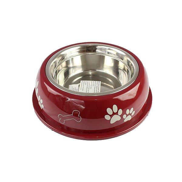 Comedouro Bebedouro Dolce Dish 475ml Loving Pets Merlot