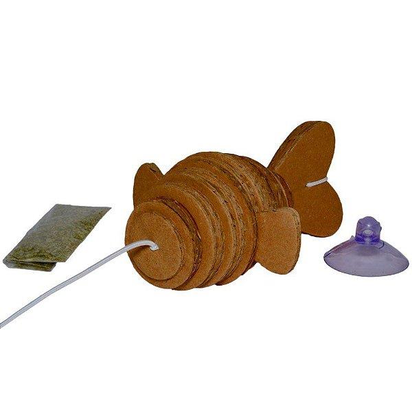 Brinquedos Para Gatos Eco Caça Peixe CatNip