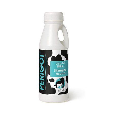 Shampoo Neutro Linha Milk Perigot 200ml