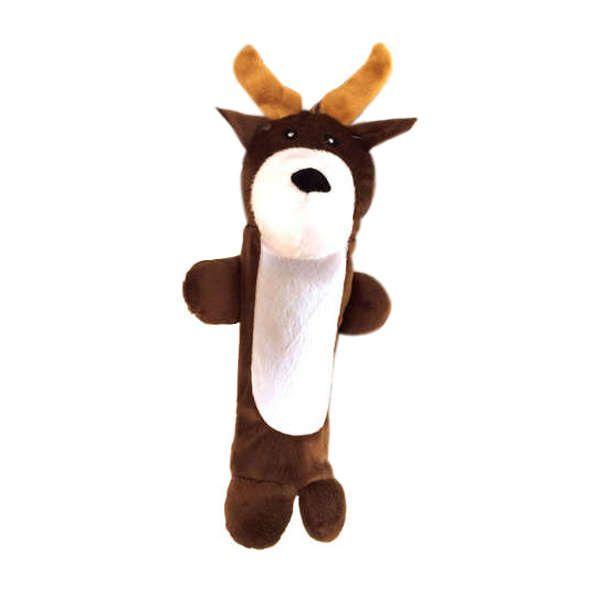 Brinquedos Para Cachorro Pelucia Alce Garrafa Pet Embutida Duki