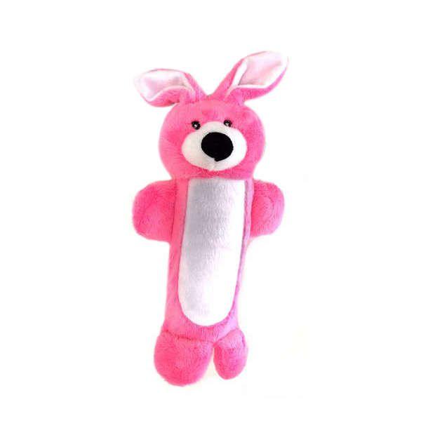 Brinquedos Para Cachorro Pelucia Coelho Garrafa Pet Embutida Duki