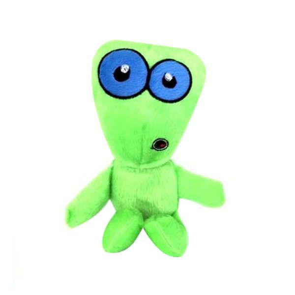 Brinquedos Para Cachorro Pelucia Monstrinho Verde Duki