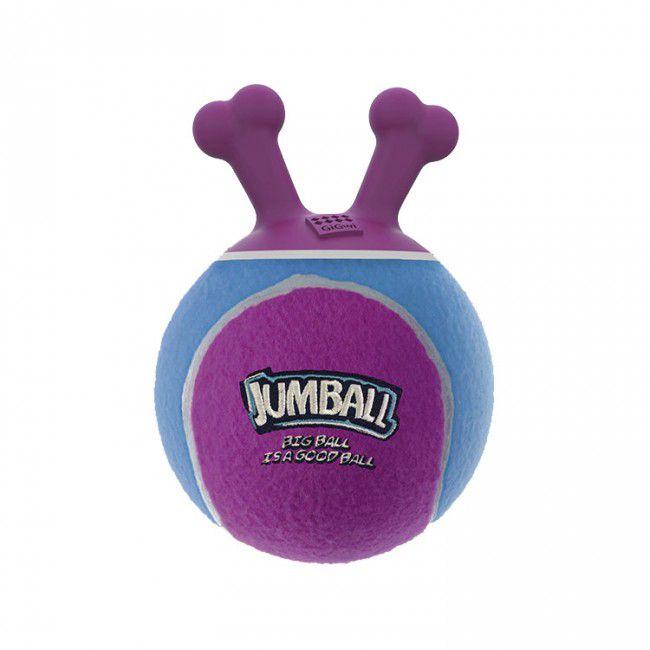 Brinquedos Para Cachorro Bola Jumball Tênis Rosa Azul