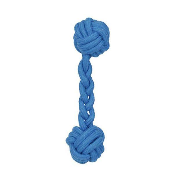 Brinquedos Para Cachorro Bolas de Corda Osso Azul