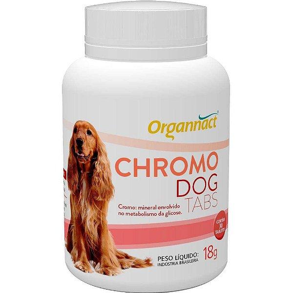 Suplemento Para Cachorro Nutritivo Organnact Chromo Dog Tabs 18g