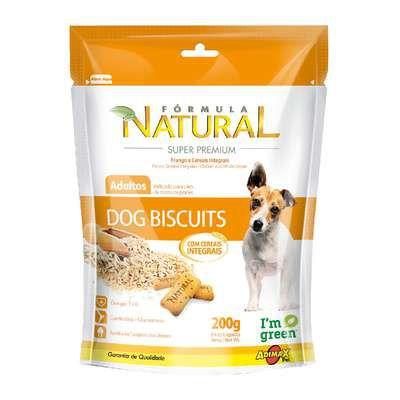 Petisco Biscoito Para Cachorro Formula Natural 200g