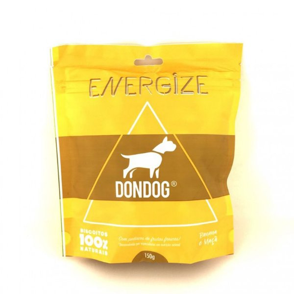 Petisco Biscoito Para Cachorro Natural Don Dog Energize