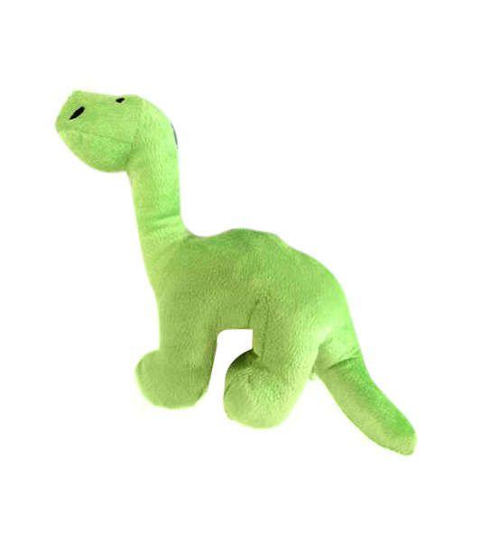 Brinquedo Para Cachorro Pelúcia Dino Verde