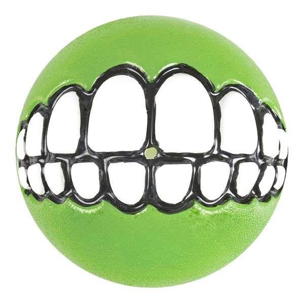 Brinquedo Para Cachorro Bola Sorriso Grinz Rogz Verde G