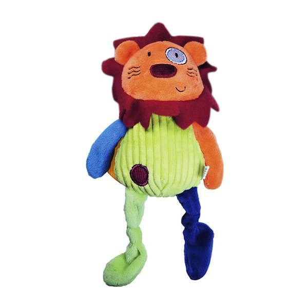 Brinquedo Para Cachorro Mordedor Pelúcia Amigo Leão