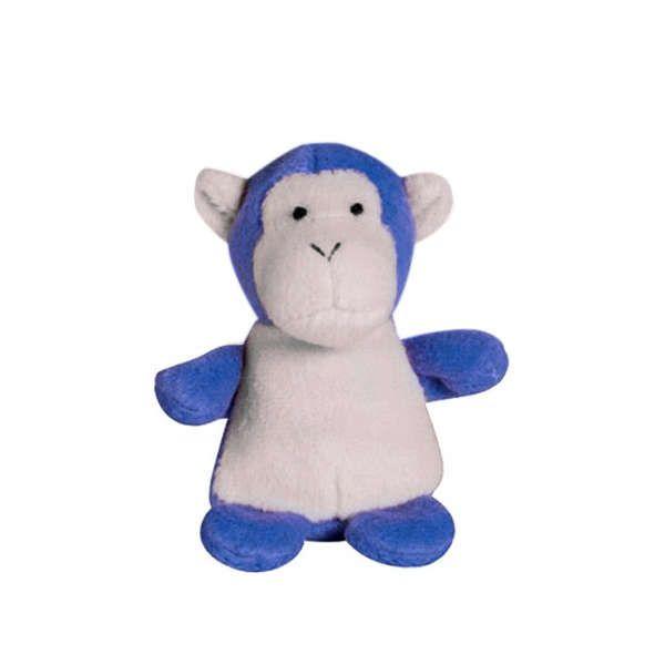 Brinquedo Para Cachorro Mordedor Pelúcia Zoo Macaco
