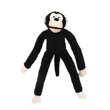 Brinquedo Para Cachorro Mordedor Pelúcia Macaco Preto