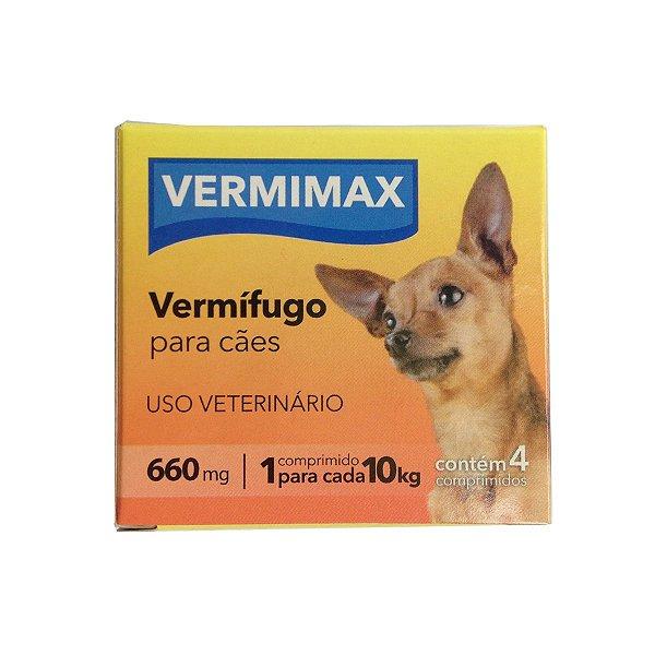 Vermífogo Para Cachorro Vermimax 660mg