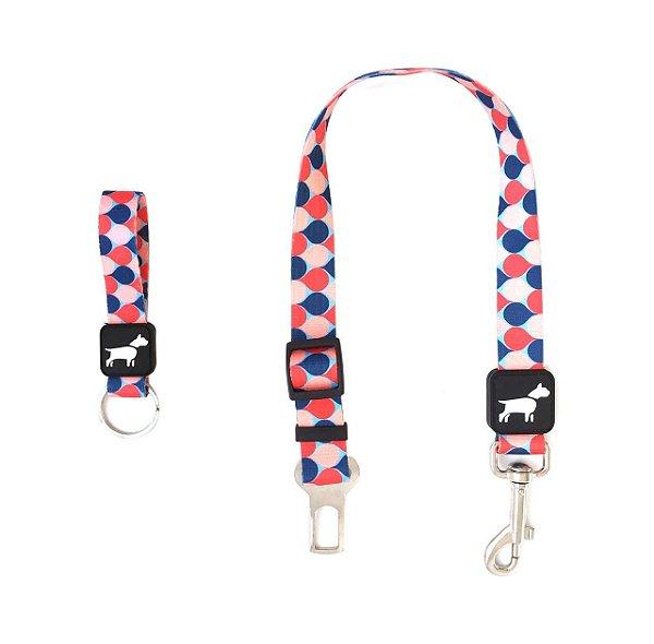 Cinto de Segurança Para Cachorro Com Chaveiro Don Dog Pop