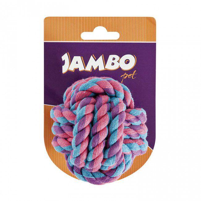 Brinquedos Para Cachorro Bola de Corda Jambo Color