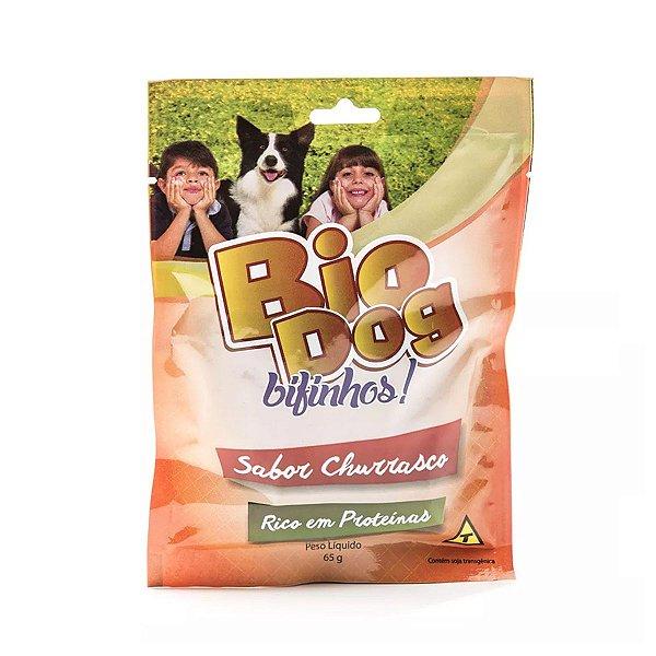 Bifinhos para Cachorro Bio Dog Sabor Churrasco