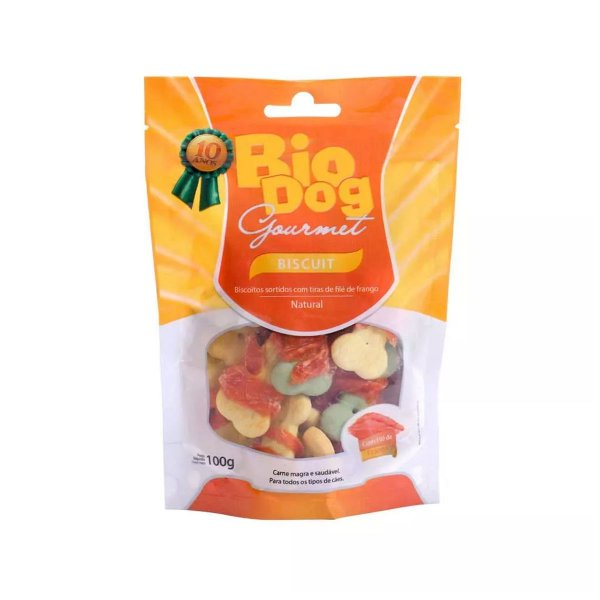 Biscoitos para Cachorro Bio Dog Gourmet Frango