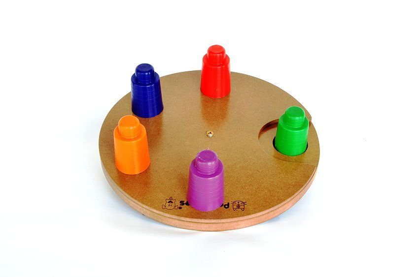 Brinquedos Para Pets Tabuleiro Disco Pet Games