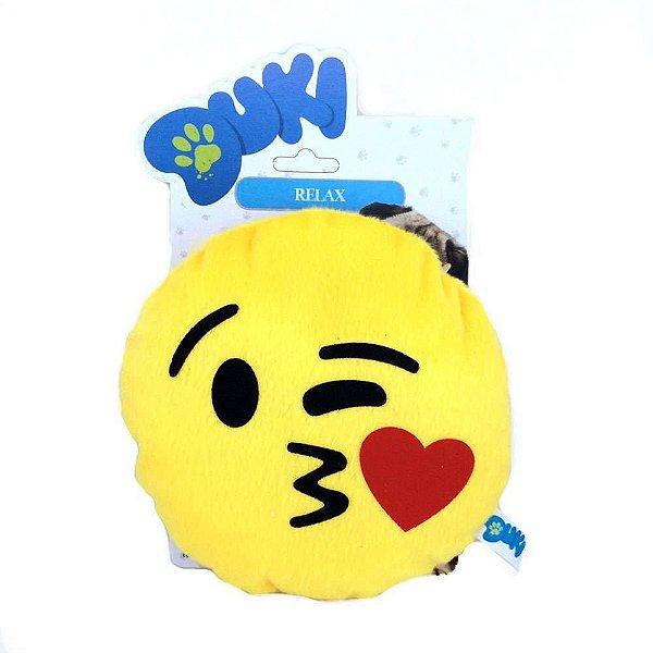 Brinquedos Para Cachorro Pelúcia Emoticon Beijinho