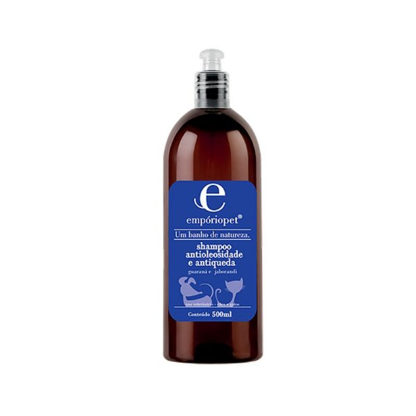 Shampoo Antioleosidade e Antiqueda Para Pets Emporio Pet 500ml