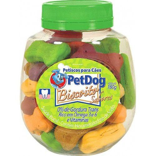 Petisco Para Cachorro Pet Dog Variados 180g