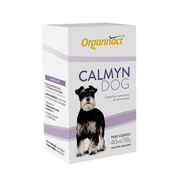 Suplemento Para Cachorro Organnact Calmyn Dog 40ml
