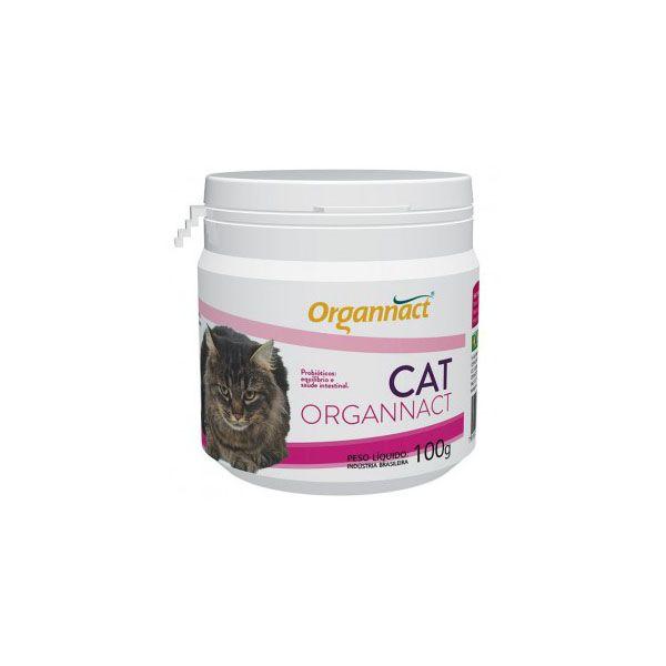 Suplemento Para Gatos Organnact Cat Probiótico 100g