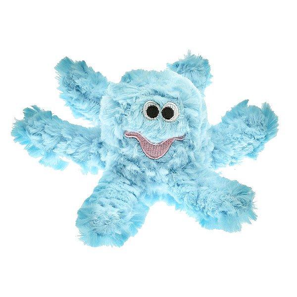 Brinquedos Para Cachorro Pelúcia PatchWork Pet Polvo Azul Pequeno