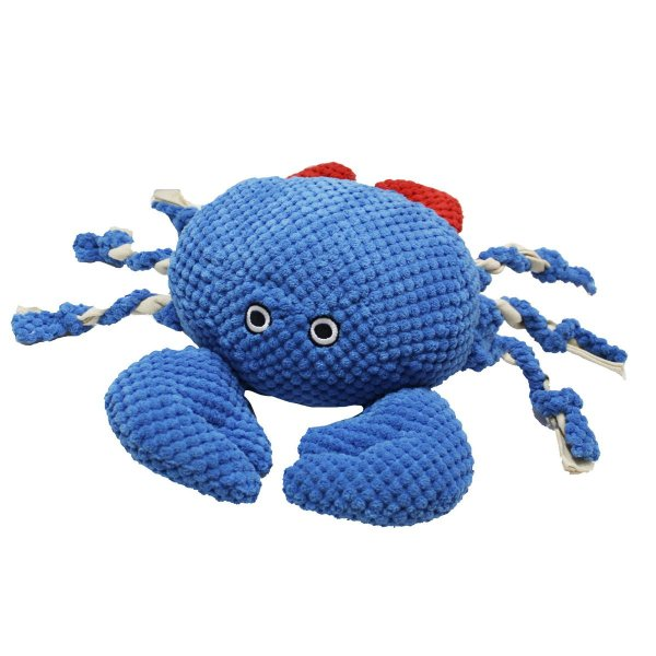 Brinquedos Para Cachorro Pelúcia PatchWork Pet Crab