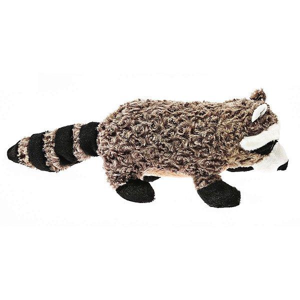Brinquedos Para Cachorro Pelúcia PatchWork Pet Guaxinim