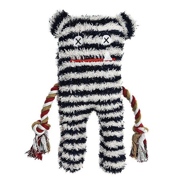 Brinquedos Para Cachorro Pelúcia PatchWork Pet Lenny Graybar