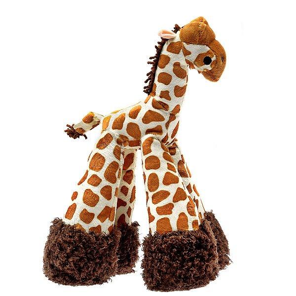 Brinquedos Para Cachorro Pelúcia PatchWork Pet Girafa
