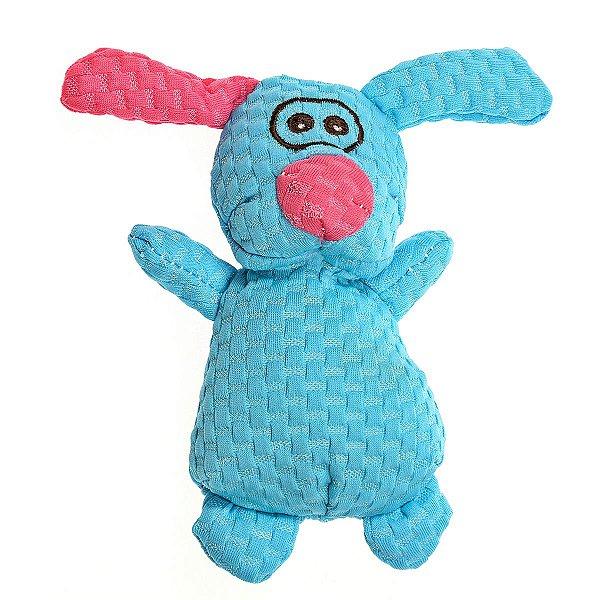 Brinquedos Para Cachorro Pelúcia PatchWork Pet Crazy Coelho