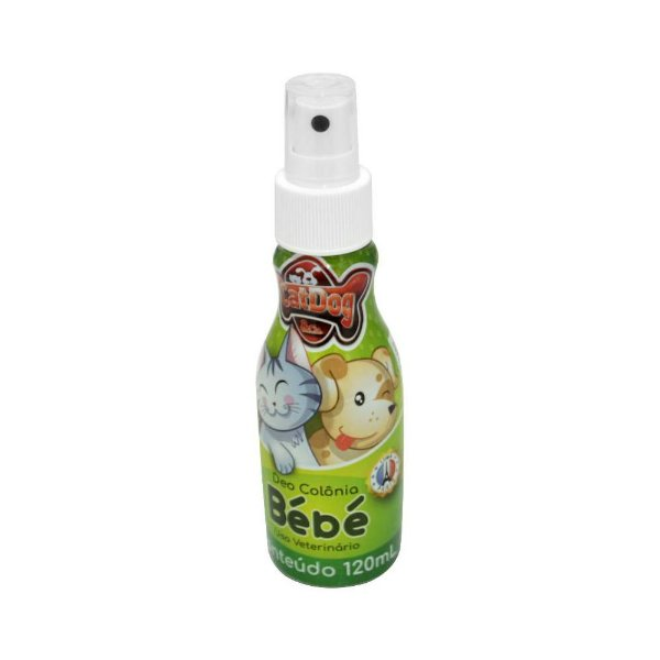 Perfume Pet Deo Colônia Cat Dog Bebe
