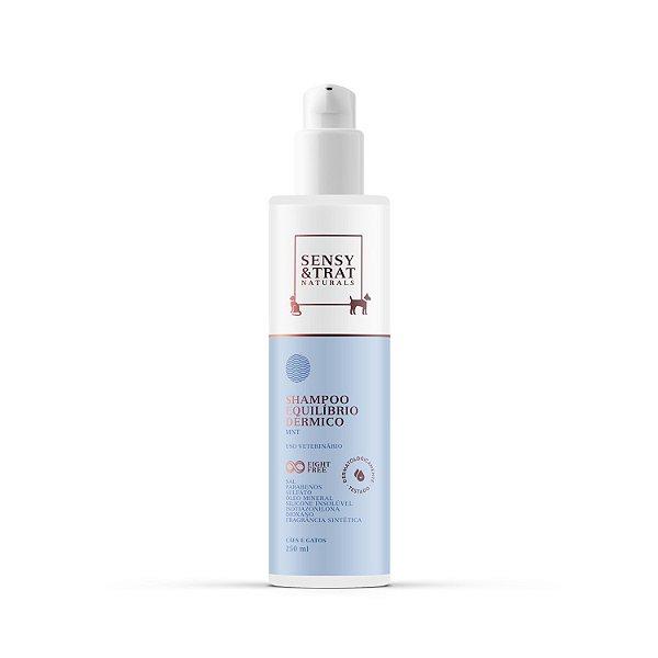 Shampoo Equilíbrio Dérmico Sensy e Trat Para Pets 250ml