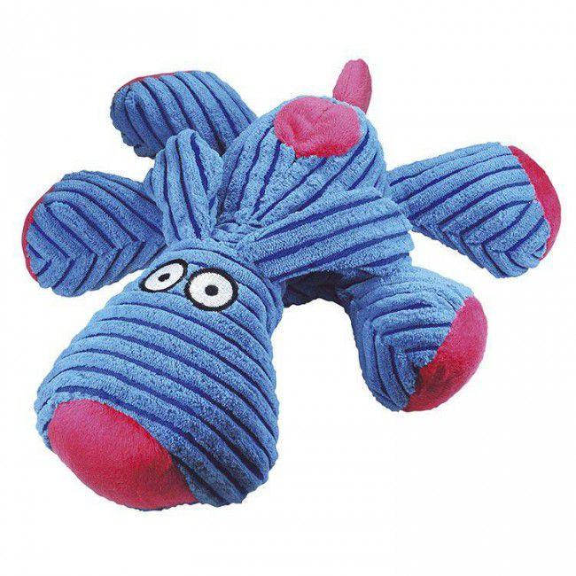 Brinquedo Para Cachorro Mordedor Pelúcia Dog Azul