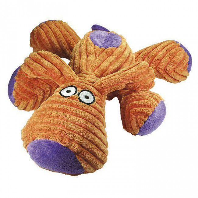 Brinquedo Para Cachorro Mordedor Pelúcia Dog Laranja