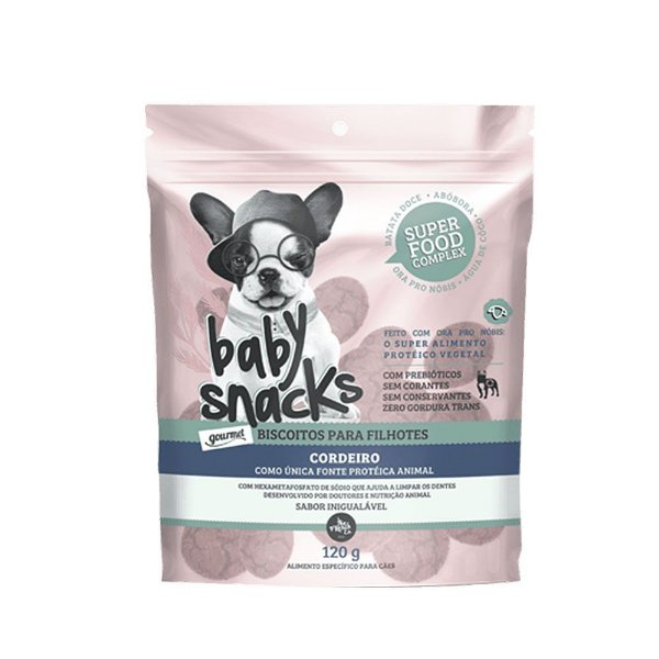 Petisco The French Co Baby Snacks 120g