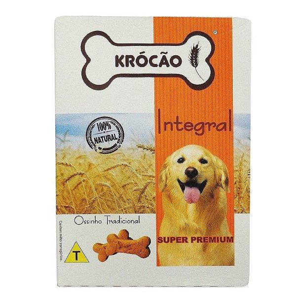 Petisco Para Cachorro Ossinho Tradicional Integral Krocão 500g
