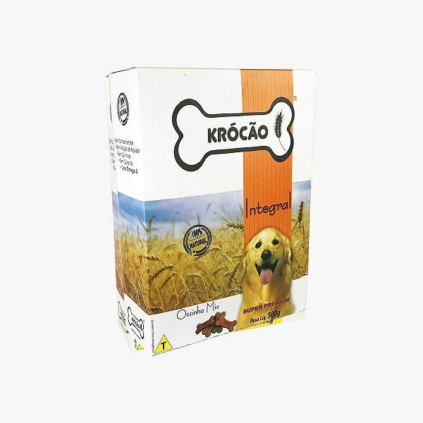 Petisco Para Cachorro Ossinho Mix Integral Krocão 500g