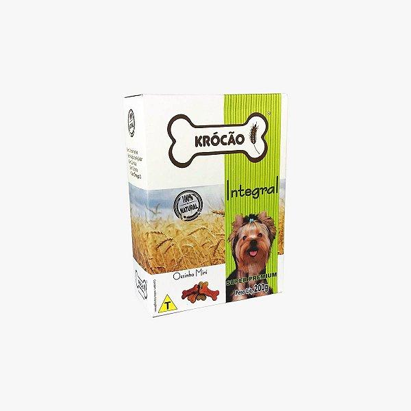 Petisco Para Cachorro Ossinho Mini Mix Integral Krocão 200g