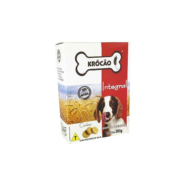 Petisco Para Cachorro Cookies Integral 200g