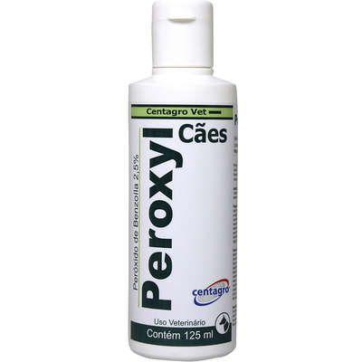 Shampoo Para Cachorro Antibacteriano Centagro Peroxyl 125ml