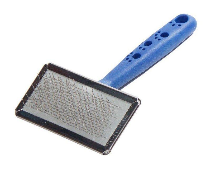 Escova Para Cães e Gatos Rasqueadeira Napi G Azul