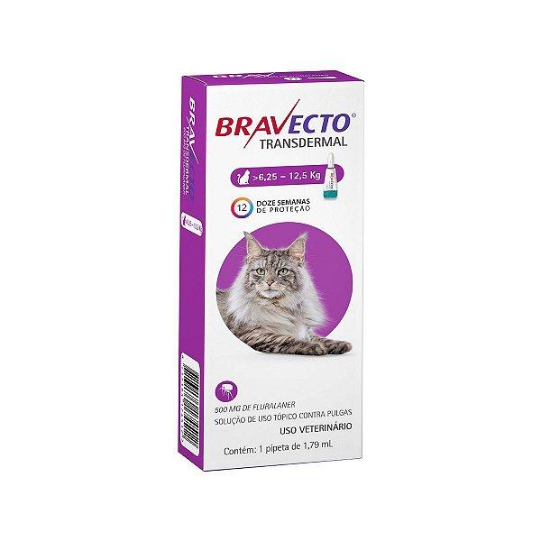 Antipulgas Bravecto 6,25 a 12,5kg Transdermal Gatos